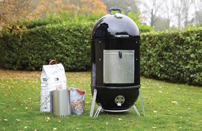 Weber smoky mountain cooker 18 inch