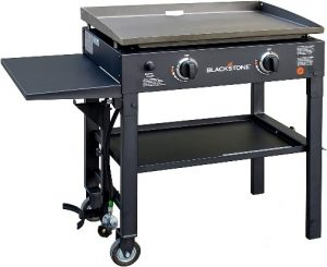 1. Blackstone 28 inch Outdoor Flat Top Gas Grill Griddle Station