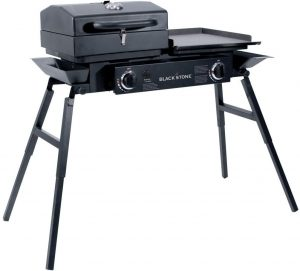 2. Blackstone Tailgater Portable Gas Grill and Griddle Combo