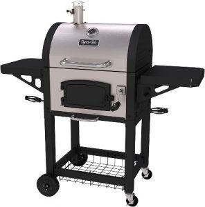 2. Dyna-Glo DGN405SNC-D Heavy Duty Stainless Charcoal Grill