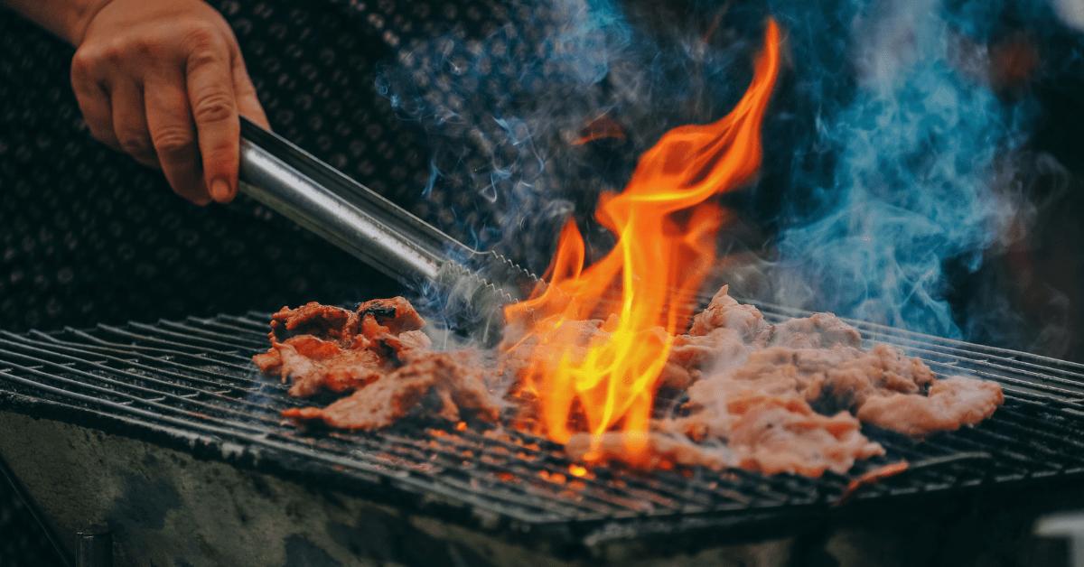 Open air grills