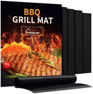Aoocan Grill Mat - Set of 5 Heavy Duty BBQ Grill Mats: