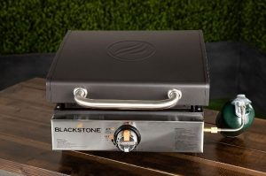 6. Blackstone 1814 Table Top Griddle with Stainless Steel Front Plate