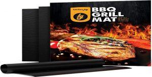 Kitchen Joy BBQ Grill Mat, Set of 3 Non-Stick Grill Sheets: