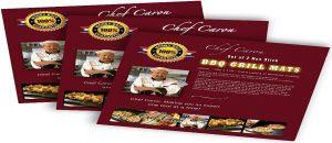Chef Caron BBQ Grill Mat: