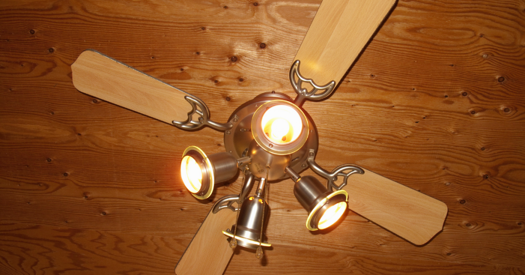 Could any light apparatus add to an outside ceiling fan