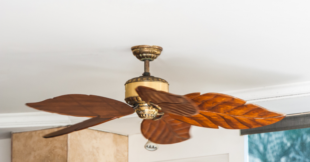 Design of outdoor ceiling fan