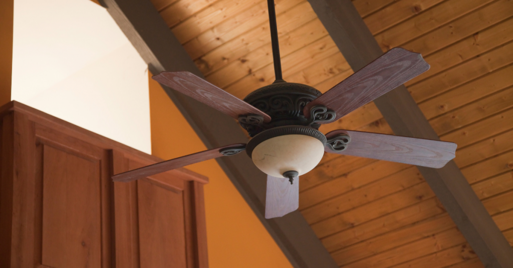Home yard outdoor ceiling fans motor