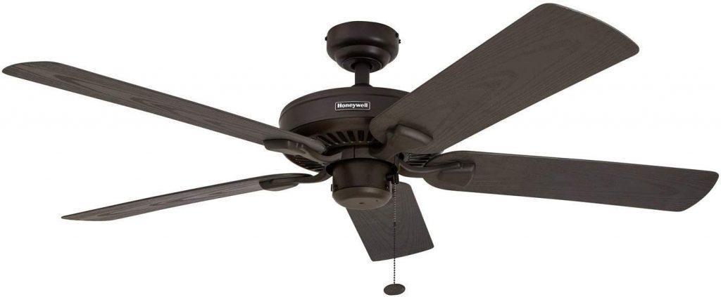 1. Honeywell Belmar 52-Inch Outdoor Ceiling Fan
