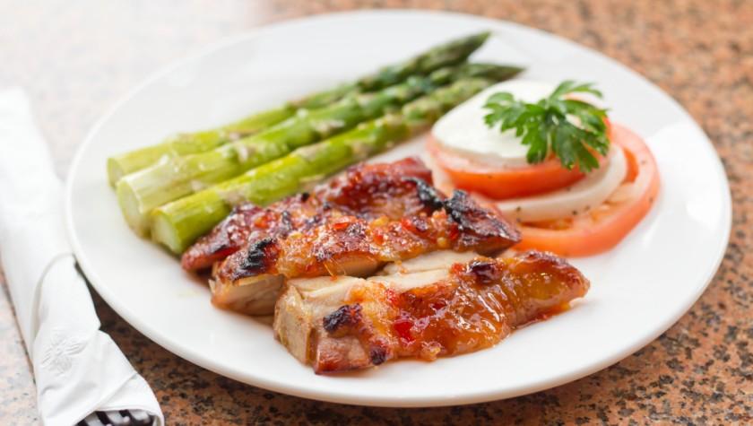 Honey-Glazed Pepper Chicken