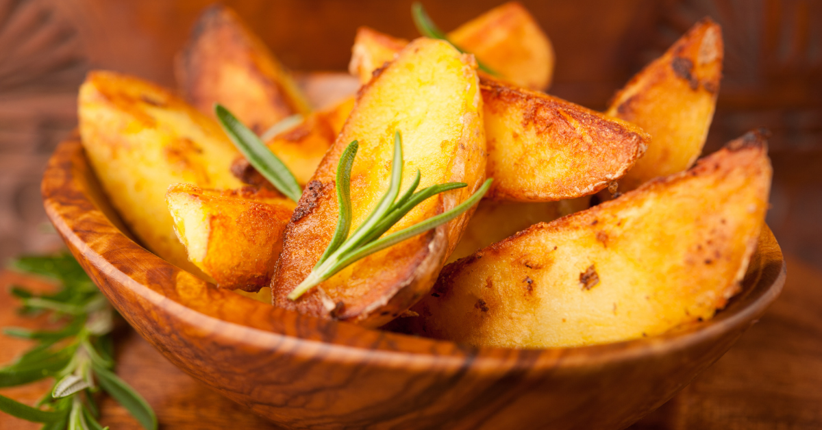 How to grill potato wedges?