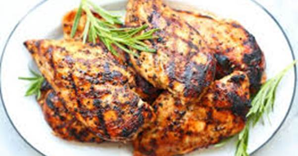 Maple Rosemary Grilled Chicken