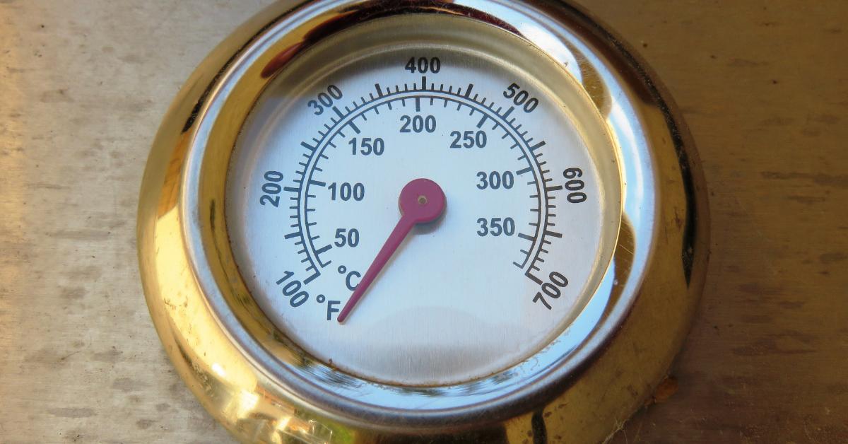 Temperature gauge: